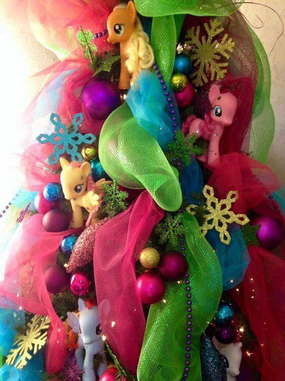navidad inspirada en my little pony