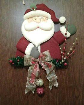 patrones de navidad de santa claus