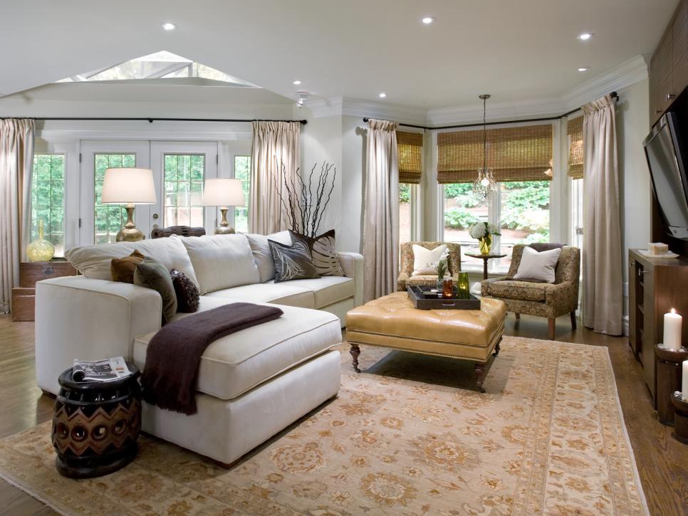 decoracion salas clasicas por Candice Olson