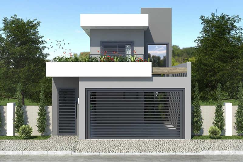 plano de casas de 7 metros