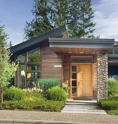 Casa de campo elegante para terrenos pequeños