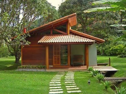 Casas de campo modernas pequeñas 2019