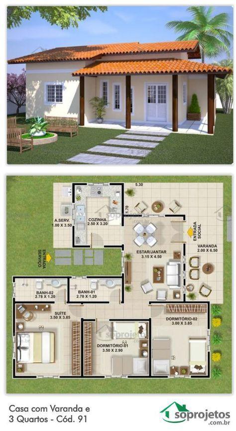 Casas rusticas pequeñas modernas para terrenos pequeños