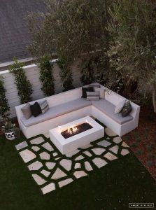 Decoración de terrazas pequeñas modernas 2019 para casas de Infonavit