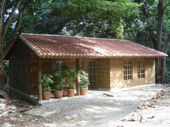 Modelos de casas de campo pequeñas y sencillas