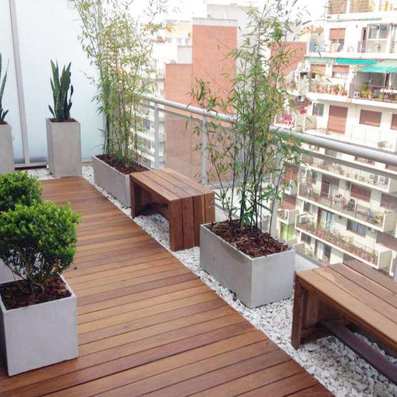 Terrazas pequeñas minimalistas para casas de infonavit
