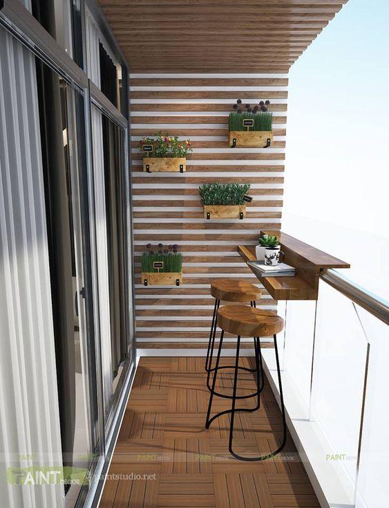 Terrazas pequeñas y funcionales para casas pequeñas