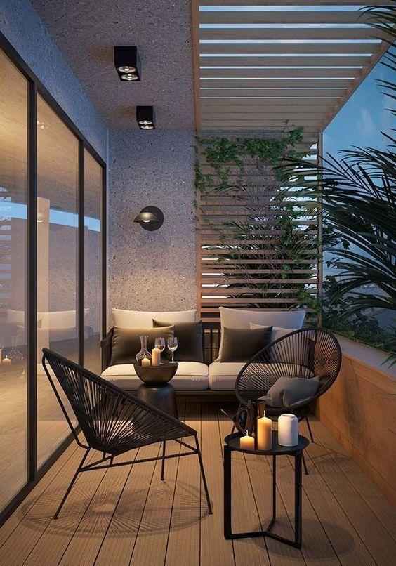 ideas para decorar terrazas pequeñas elegantes en casas de infonavit
