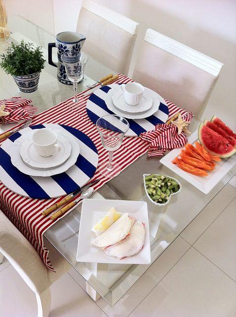 Adornos para mesa de comedor rectangular