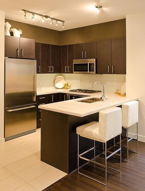 Diseños de cocinas modernas pequeñas | Decoracion Interiores