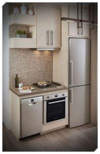 Cocinas integrales pequeñas para casas de infonavit