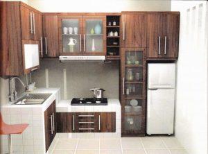 Cocinas pequeñas rústicas para casas de infonavit