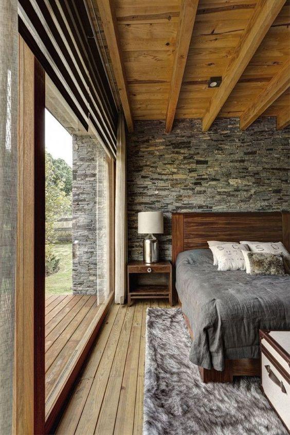 Decoracion de gris con cafe habitaciones modernas