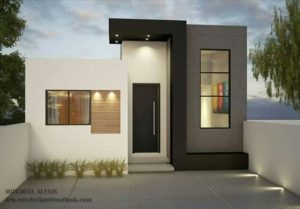 Fachadas de casas pequeñas 2019