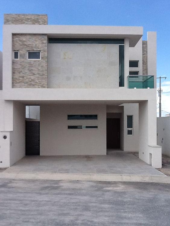 Fachadas de casas pequeñas de infonavit