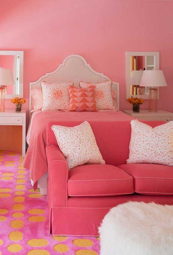 Habitación rosa pastel 2019
