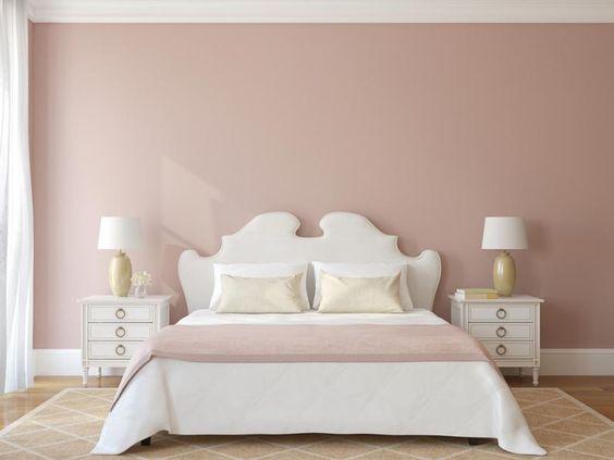Habitacion rosa palo para mujeres