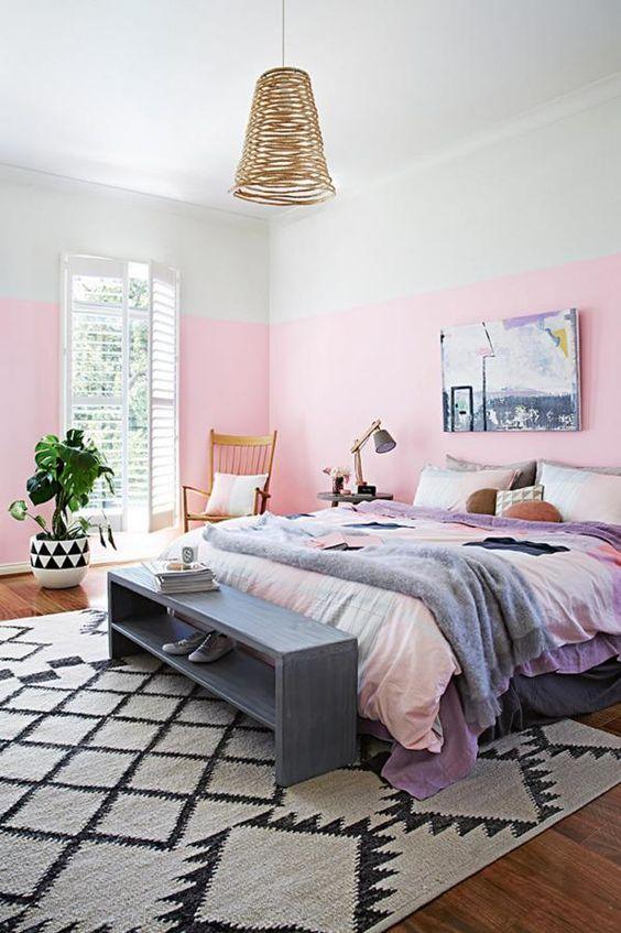 Habitacion rosa pastel 2019