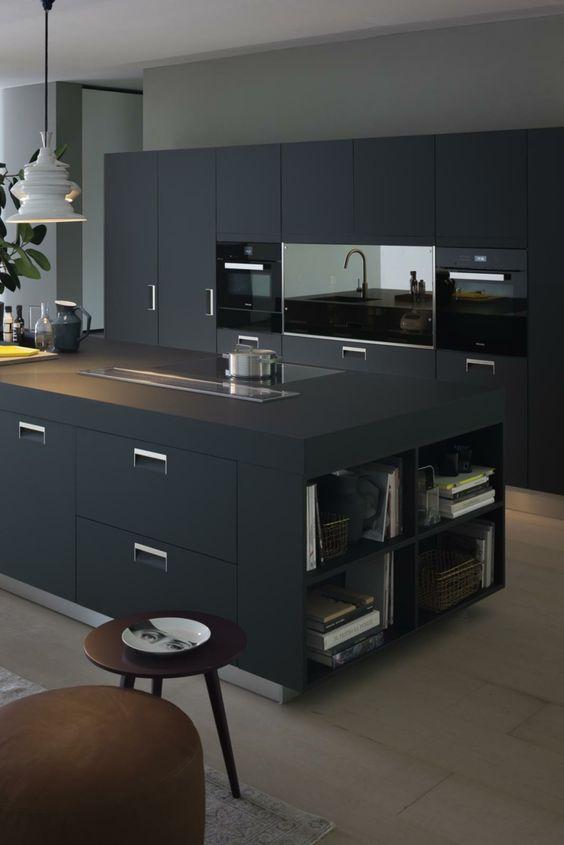 Modelos de islas para cocinas modernas minimalistas
