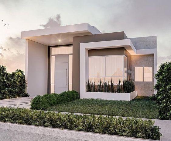 Modelos de ventanas modernas para fachadas minimalistas