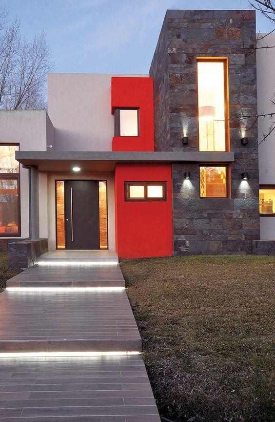 Modelos de ventanas para frentes de casas grandes