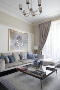 esquemas de colores para pintar salas con tonos claros