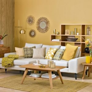gamas y esquemas de colores para pintar la sala