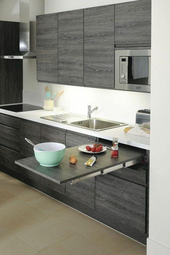 30 maneras de sacarle provecho a una cocina pequeña