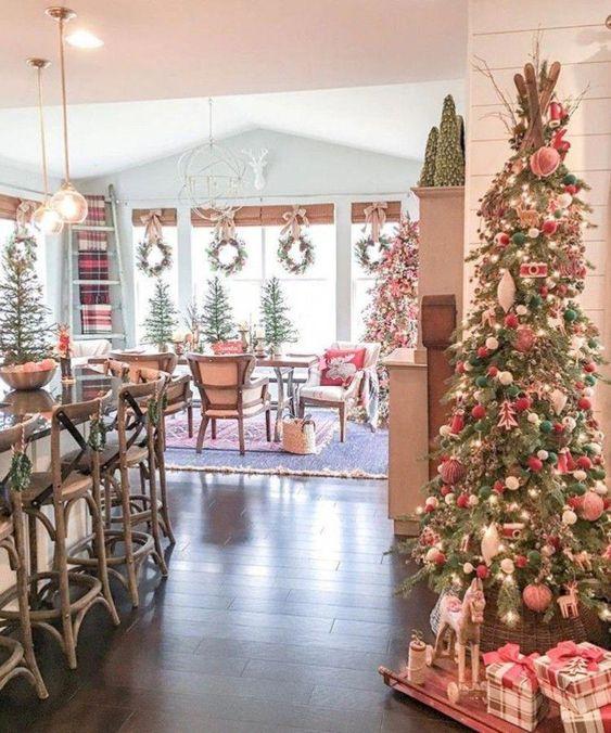 adornos navideños 2019 - 2020 para espacios confortables