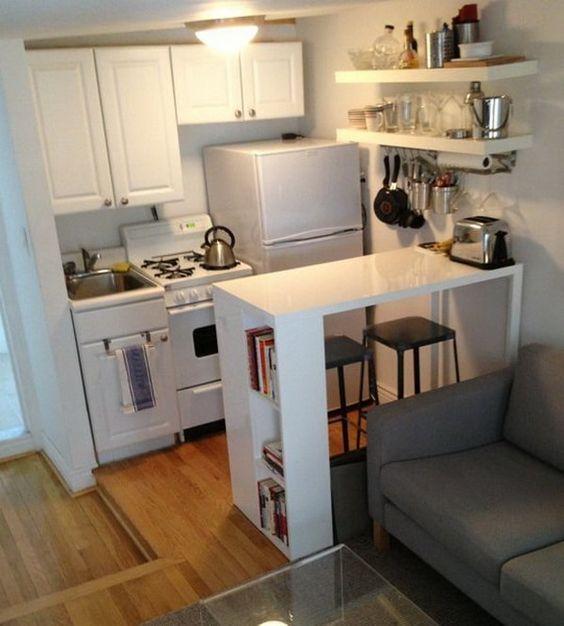 decora y almacena en un departamento pequeño
