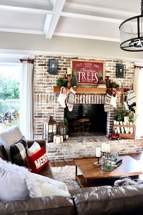 decoracion confortable para el hogar esta navidad 2019 - 2020