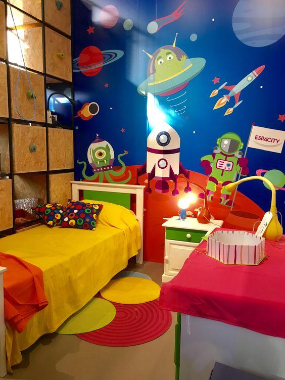 decorar habitacion niño 4 anos con juegos