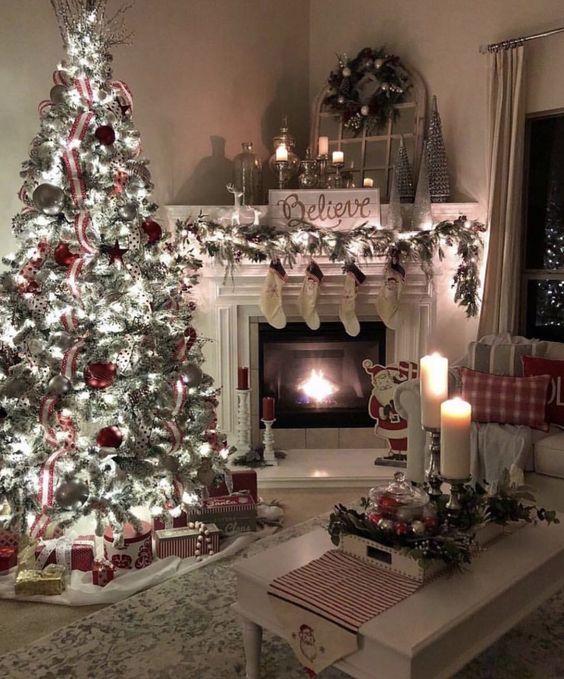 guirnaldas navideña para decorar espacios confortables