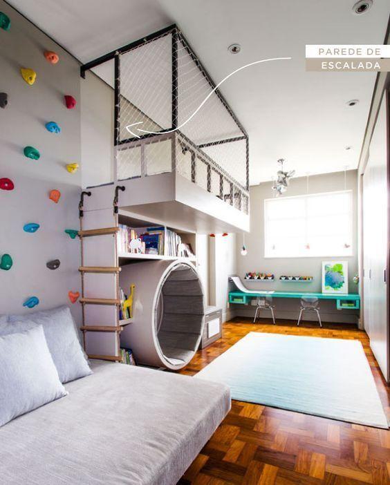 habitaciones infantiles de niños con espacios de recreacion