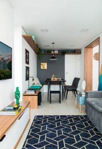 incluye muebles a la medida en pisos pequeños