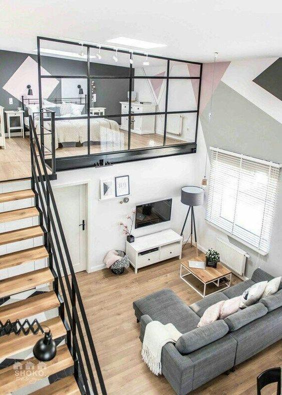 integra muebles multifuncionales a un piso pequeño