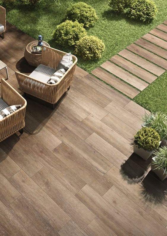 piso de madera para patios y terrazas