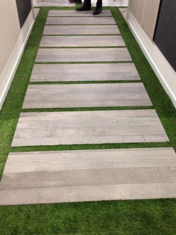 piso laminado para patios traseros en color claro