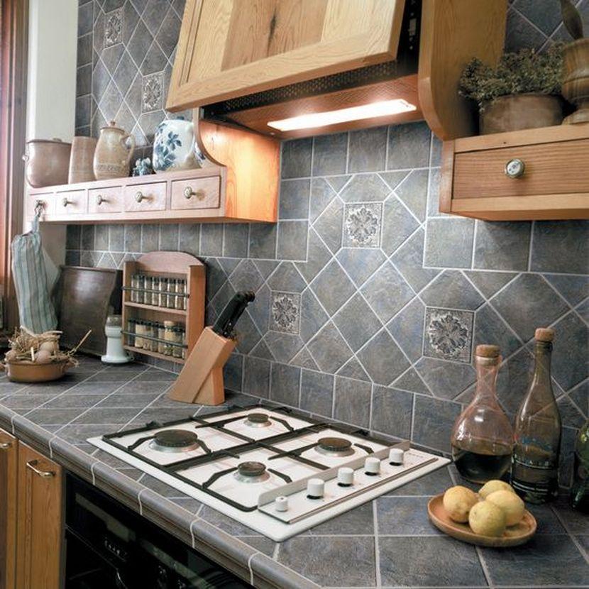 azulejos para decorar encimeras con estampados vintage