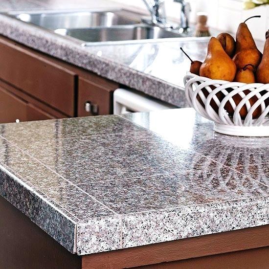 ideas para decorar barras de cocina con azulejos pequeños