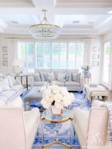 Colores para una sala elegante