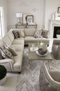 Ideas para salas pequeñas elegantes