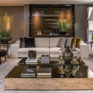 Muebles rectos para salas