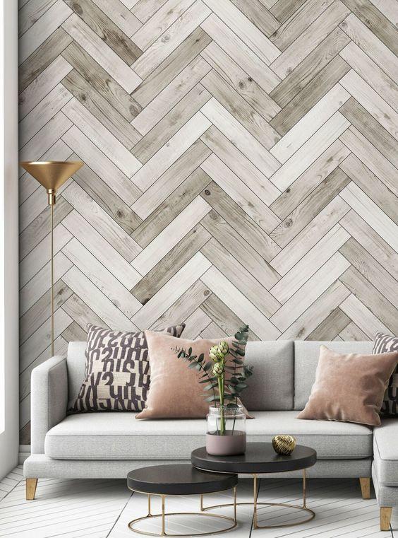 Papel tapiz para salas elegantes