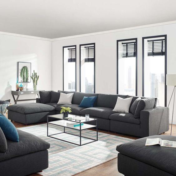 Salas estilo contemporáneo