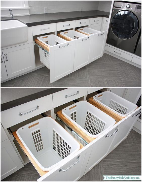 Convierte tu cuarto de lavado en un espacio práctico