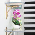 Decoración de salas con cristales