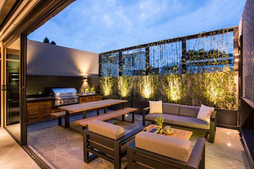 Iluminación para terrazas