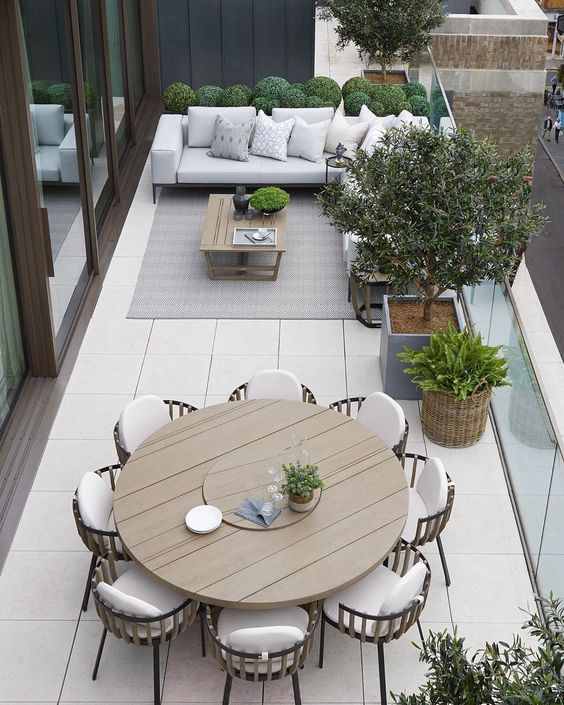 Muebles auxiliares para terrazas