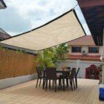 Diseños de toldos sencillos para jardín